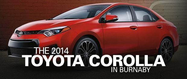 2014 Toyota Corolla Burnaby