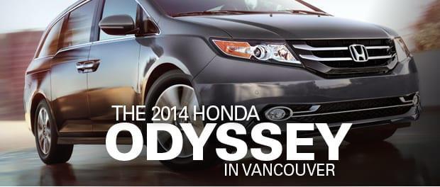 2014 Honda Odyssey Vancouver