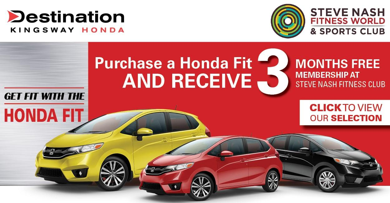 Get Fit With The Honda Fit