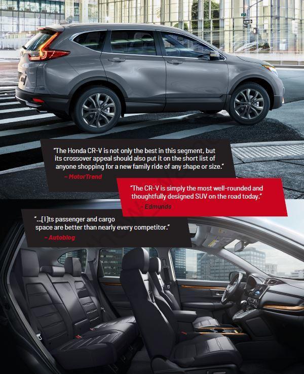 2020 CR-V Reviews by Motor Trend, Edmunds, Autoking
