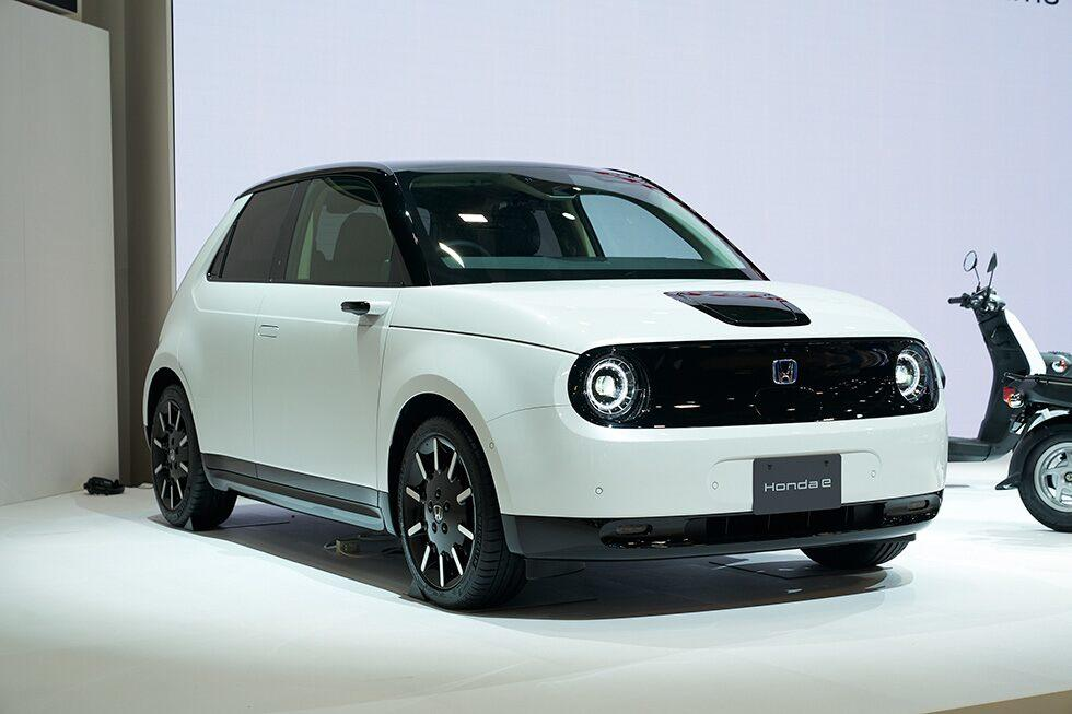 Honda e electric vehicle