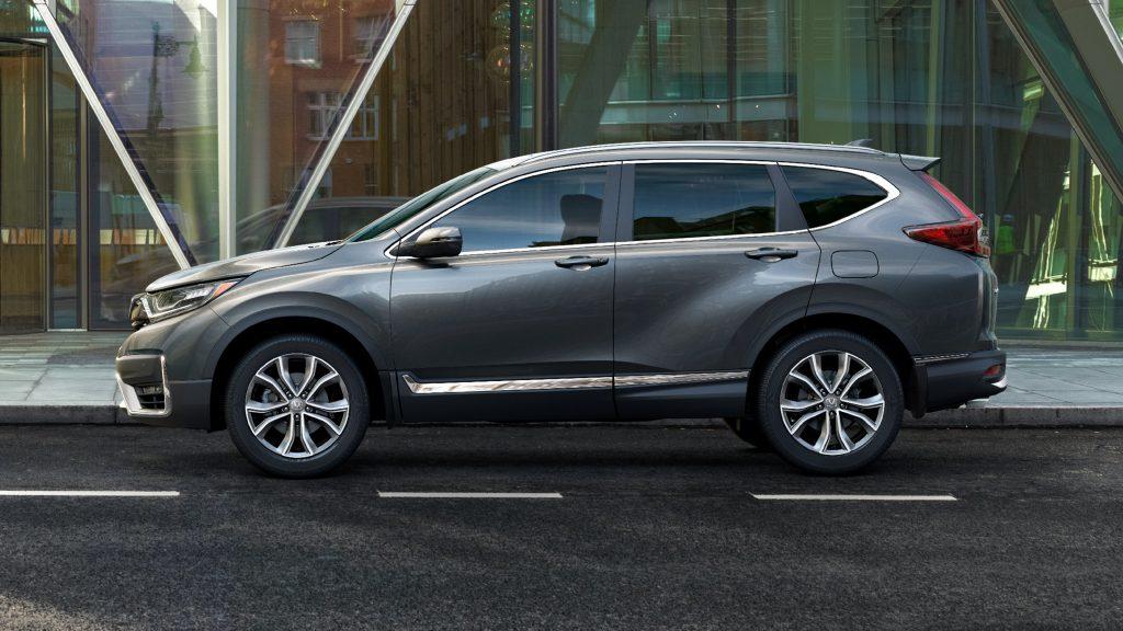 2020 Honda CRV side