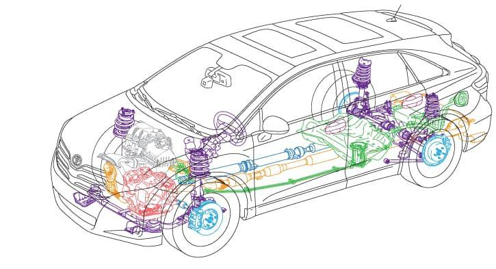 Toyota Car Schematics
