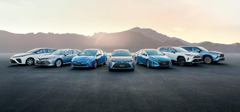 Toyota Hybrid Lineup