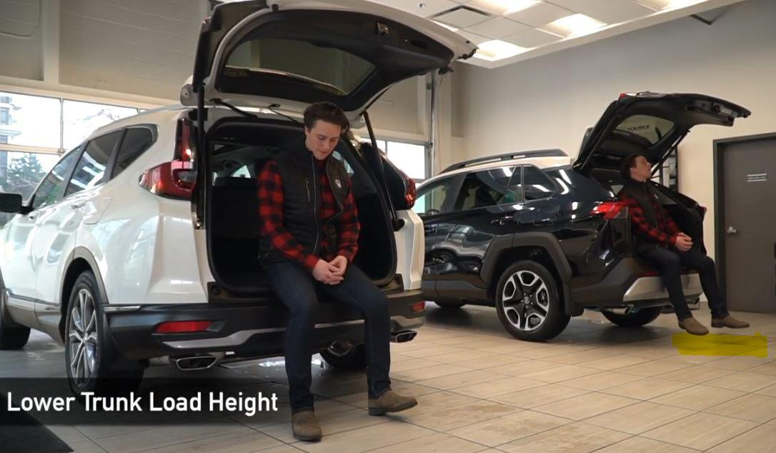 CR-V Load Trunk Height