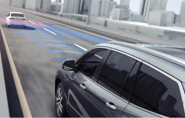 Honda Sensing FCW