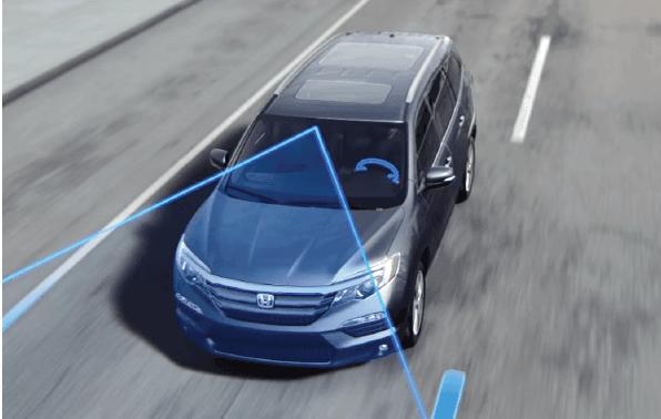 Honda Sensing LKAS